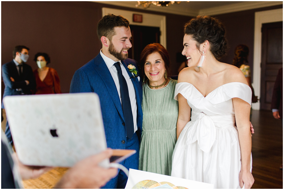 Intimate 50 Guest Knox Farms Wedding by Shaw Photo Co.